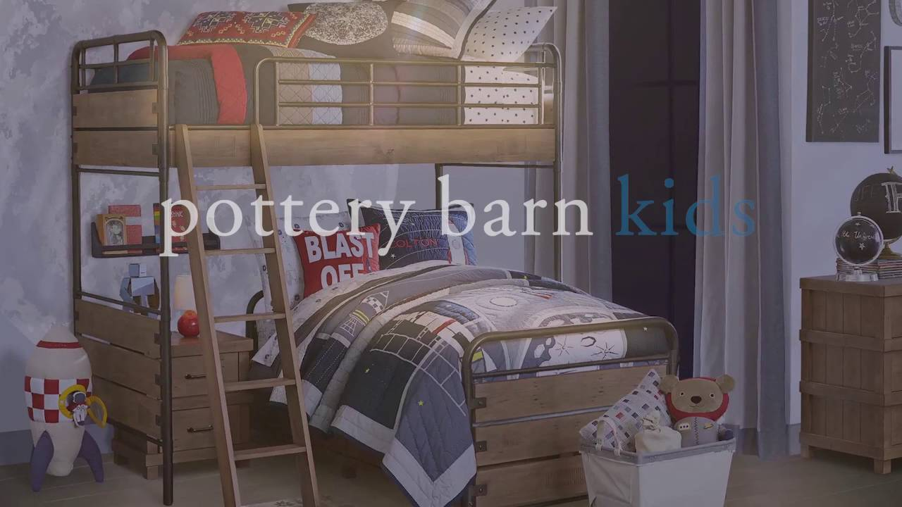 Perfect Bunk Beds | Pottery Barn Kids - YouTube