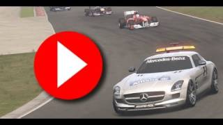 Formula 1: F1 2011 DD4 season upgrades safety car HD video game trailer - PC PS3 X360