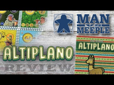 Altiplano (dlp games) Review by Man Vs Meeple