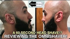 Shaving My Head In Under 60 Seconds!? Reviewing The OmniShaver! #Balding #HeadShaving