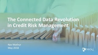 The Connected Data Revolution in Credit Risk Management