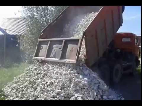 УралАвтоСтрой. Щебень мраморный фр 70-120
