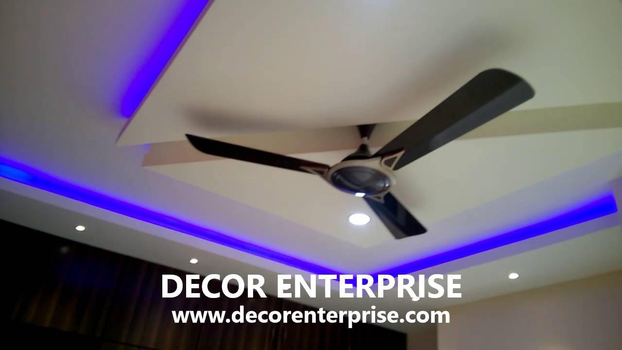 Mr Mrinmoy Das Flat Ceiling Design Gypsum Board False You