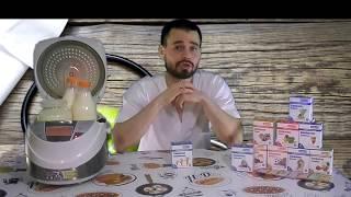 Закваска Ацидофилин / Как сделать йогурт / Домашний йогурт