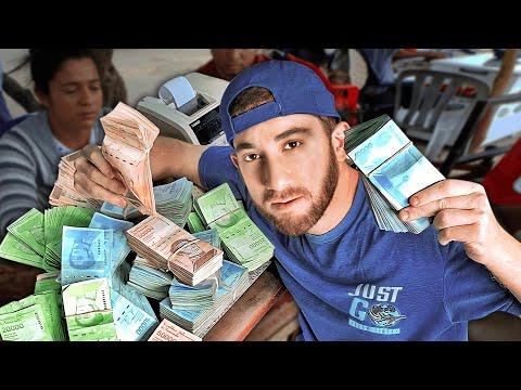 $10 Challenge in VENEZUELA (14 MILLION Bolívares)