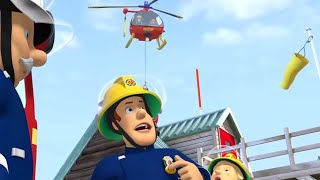 Get the Helicopter Ready! | Fireman Sam US 🔥Firefighters' Best Rescues 🚒 Videos for Kids