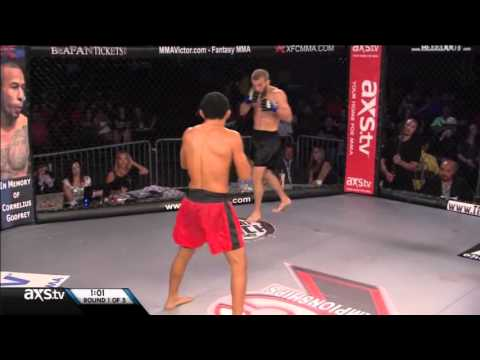 XFC 25: Boiling Point - Stephen Bass vs Farkhad Sharipov