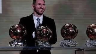 Месси в шестой раз стал обладателем Золотого мяча