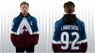 NOTD: Avs Stadium Jerseys Released, Caleb Jones Signs Extension with Oilers