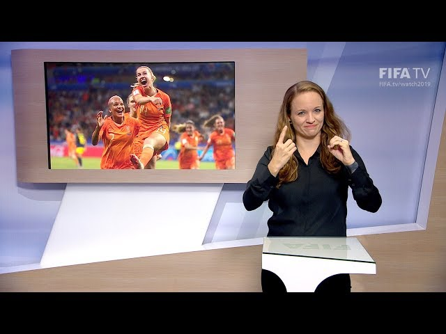 Matchday 23 - France 2019 - International Sign Language for the deaf and hard of hearing