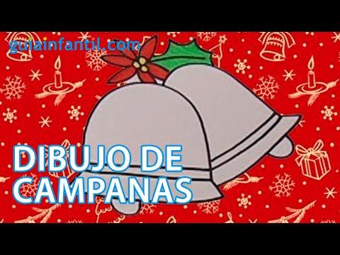 Dibujos para ni os de navidad campanas navide as youtube - Campanas de navidad ...