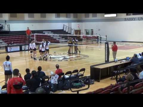 Palm Beach State Vs. Barry University Scrimmage