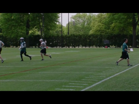 LIVE: Eagles Rookie Minicamp Kicks Off