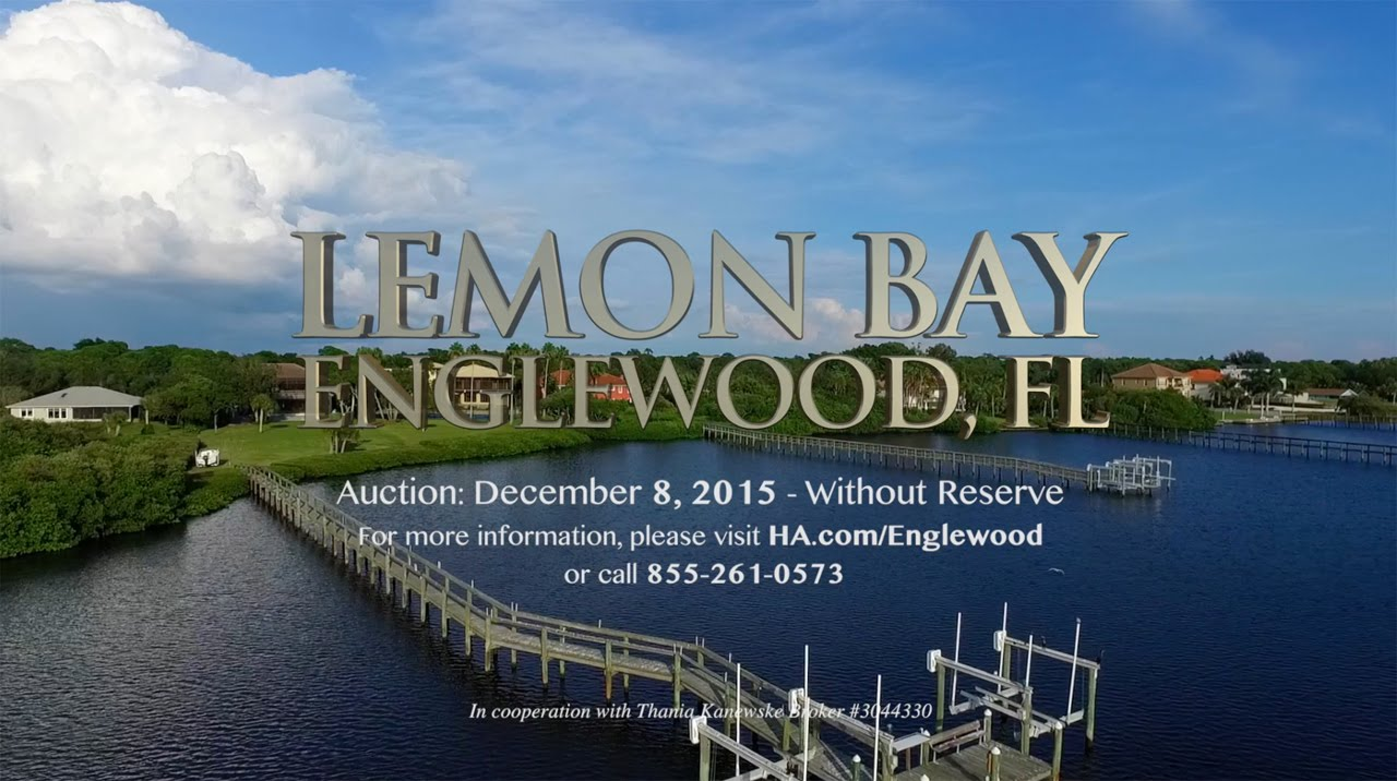 Lemon Bay - Englewood, FL - YouTube