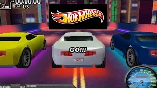 Juego de Autos 29: Hot Wheels Turbo Glo MidNight 2012 con giro a 180° A Rare Gameplay