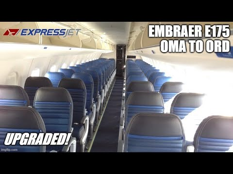 TRIP REPORT | ExpressJet | Omaha to Chicago | Premium Economy (#N612UX)