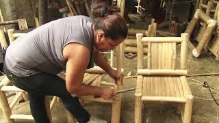 Reportaje Artesanias en Bambú