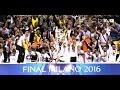 لحظات لا تنسي في نهائي دوري الابطال بين ريال واتلتيكو مدريد 2016