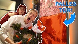Weihnachts ROOMPRANK in Palutens Zimmer! [Geht Schief]