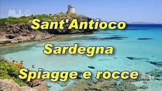 Sant'Antioco Sardegna, Spiagge e rocce