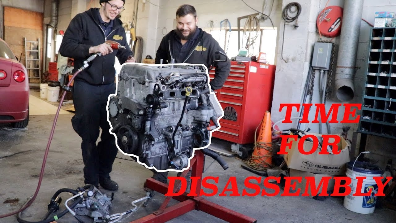 Cobalt SS LSJ Engine time to TEAR IT DOWN by Salvo Brothers
