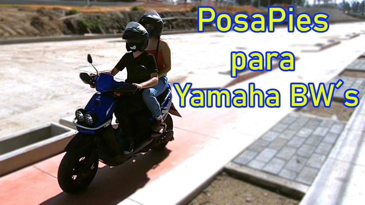 PosaPies para Yamaha Bw´s 🛵/2014 y anteriores