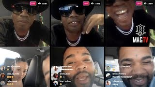 "Plies & Kevin Gates Talk Bout ""All Thee Above"" Video On IG Live!"