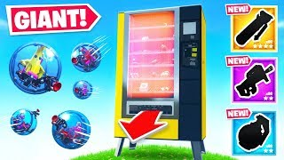 GIANT VENDING MACHINE *LOOT* Game Mode in Fortnite Battle Royale