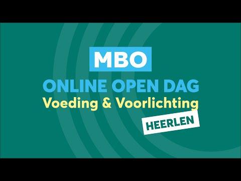 Heerlen MBO Voeding en voorlichting Online Open Dag