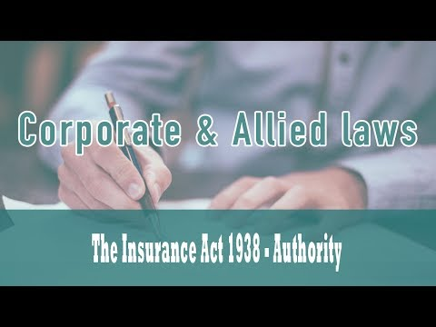 The Insurance Act 1938 | Section 2 | Fire Insurance Business | General Insurance Business | Part 1a