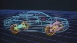 Audi 100 C4 91 promo(Audi 100 C3 отличалась обтекаемым кузовом, была лидером в технологии постоянного полного привода