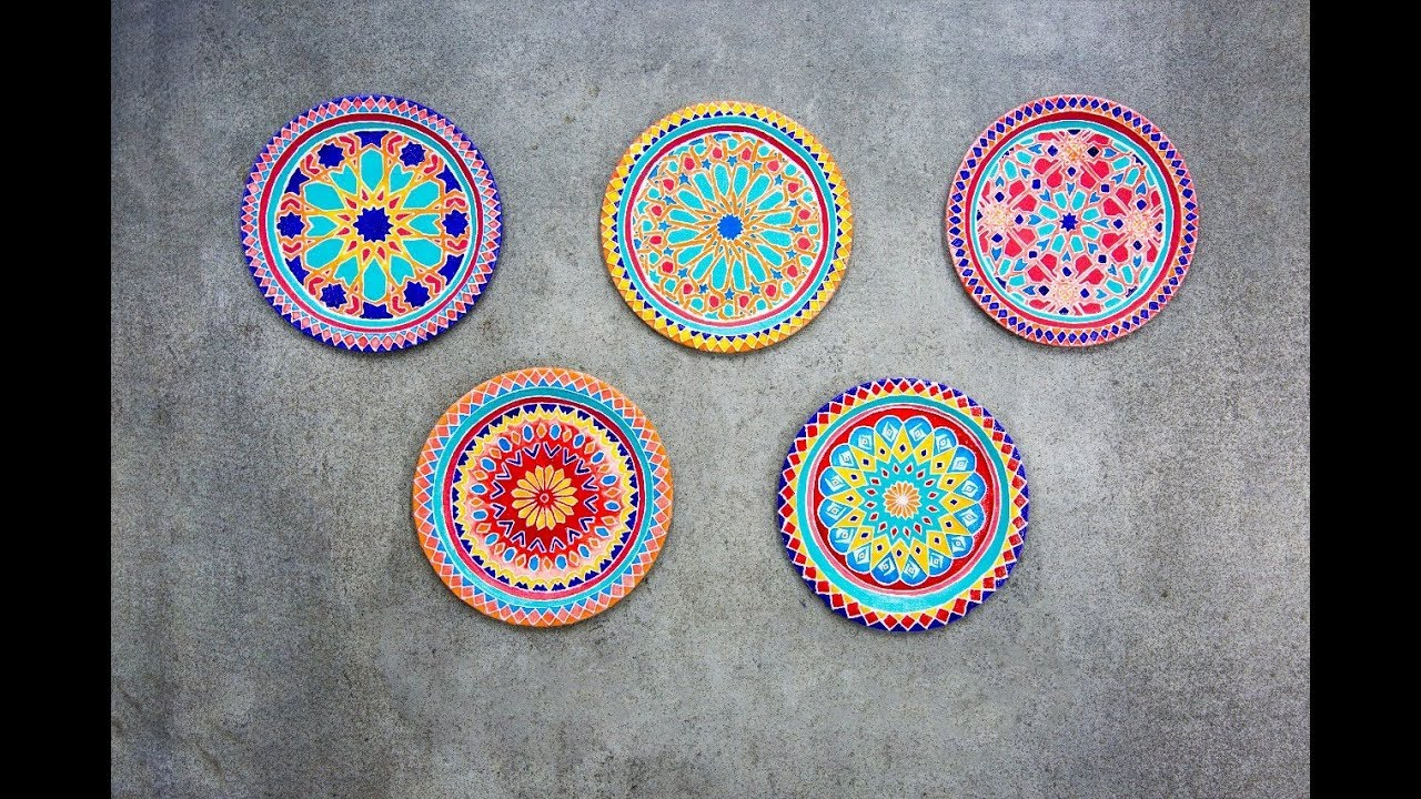 DIY Decorative Wall Plates