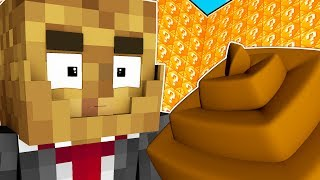 NASTY POOP LUCKY BLOCK MOD WALLS! - MINECRAFT MODDED MINIGAME