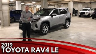 2019 Toyota RAV4 LE Walkaround Video
