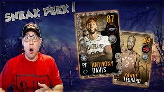 NBA LIVE MOBILE 19 HALLOWEEN PROMO SNEAK PEEK!! 87 OVR MASTER ANTHONY DAVIS!!