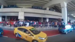 Progres Pembangunan Rel Jalur Kereta Bandara di terminal 3 Ultimate Bandara Soekarno Hatta