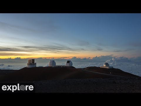 Night Sky Time-lapse Meditation at the Keck Observatory powered by Explore.org