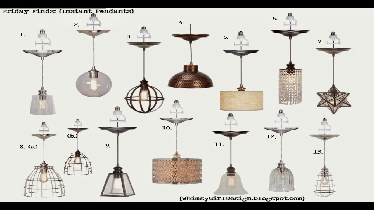 Instant Pendant Lights Lowes You