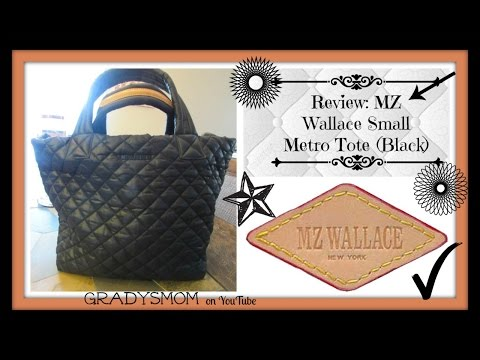 Review: MZ Wallace Small Metro Tote in Black