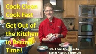 Cooking Healthy Dinner Recipes: Pork Loin With Baby Portabella Mushrooms