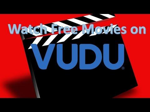 Watch free movies on Vudu