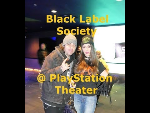 Black Label Society @ PlayStation Theater on 01.31.18 Rock n Roll Reality a Concert Vlog  演唱会网