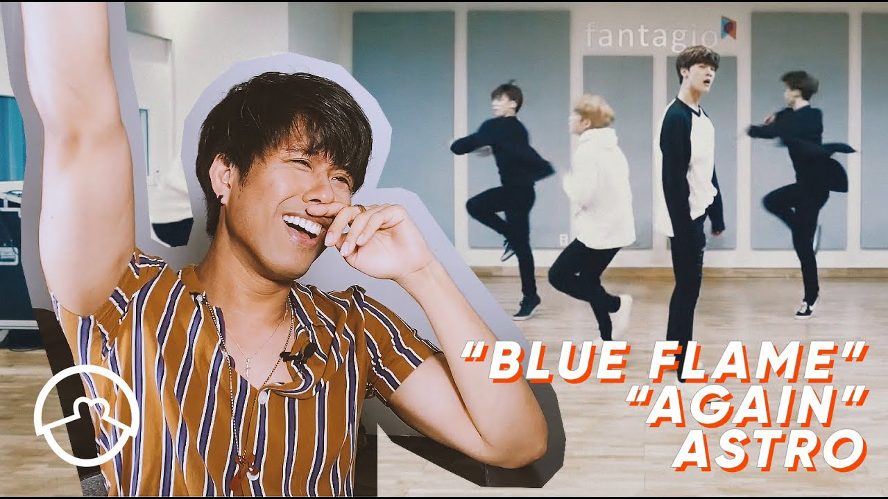 "Performer React to ""Blue Flame"" + ""Again"" Dance Practice"