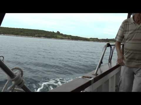 My Croatia Holiday Videos 2015 - 9,  Losinj  Island, Boat trip to Ilovik Island
