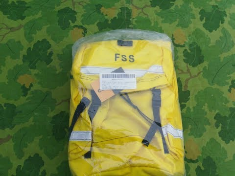 How To Set Up Your Firefighters Field Pack Assyembly Or FSS Gear