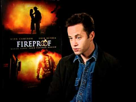 fireproof exclusive kirk cameron interview youtube