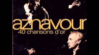 Watch Charles Aznavour Les Plaisirs Demodes video