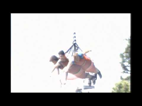 Ripcord Ride first time Michigan Adventure 2013
