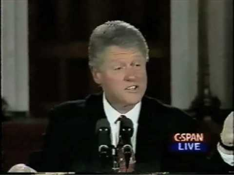President Clinton Signs The Brady Bill