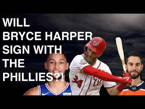 BRYCE HARPER FINALLY SIGNING WITH THE PHILLIES?! | THIS WEEK IN PHILADELPHIA SPORTS